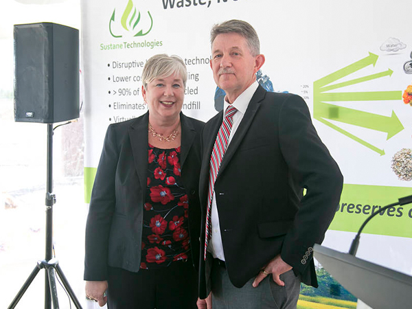 Federal government invests $2.6 million in green waste recycling facility